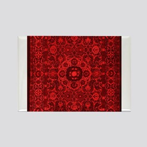 Oriental Rug Red Magnets
