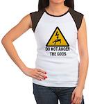 Do Not Anger The Gods Women's Cap Sleeve T-Shirt