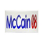 John McCain 08 Rectangle Magnet