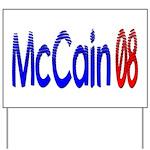 John McCain 08 Yard Sign