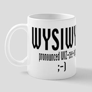 WYSIWYG gift Mug