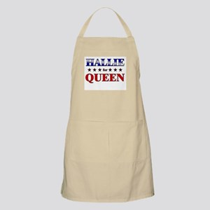 HALLIE for queen BBQ Apron