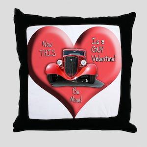Helaine's GUY Valentine Throw Pillow
