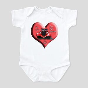 Helaine's GUY Valentine Infant Bodysuit