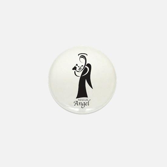 Animal Rescue Angel Mini Button