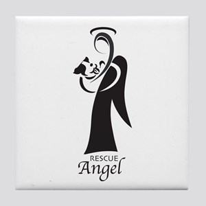 Animal Rescue Angel Tile Coaster