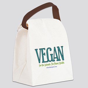 Vegan. For the Animals. The Planet. Health. Canvas