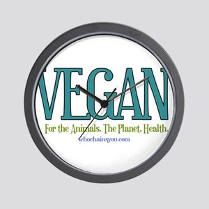 Vegan. For the Animals. The Planet. Health. Wall C