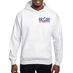 McCain for president in 08 Hooded Sweatshirt