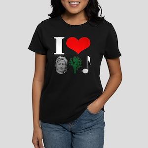 anti Hillary 2008 Women's Dark T-Shirt