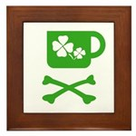 Pirate's Irish Coffee Framed Tile