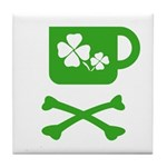 Pirate's Irish Coffee Tile Coaster