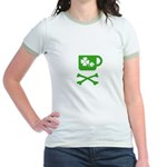Pirate's Irish Coffee Jr. Ringer T-Shirt