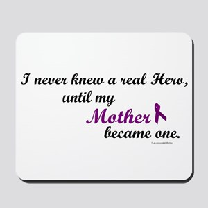 Never Knew A Hero MOTHER (Purple) Mousepad