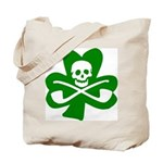 St. Patrick's Day Jolly Roger Tote Bag