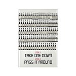 99 Bottles Of Beer On The Wal Rectangle Magnet (10