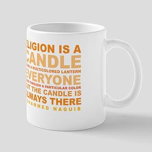 Religion is a Candle Mug