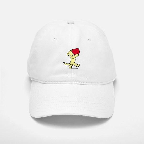Yellow Labrador Retriever Baseball Baseball Cap