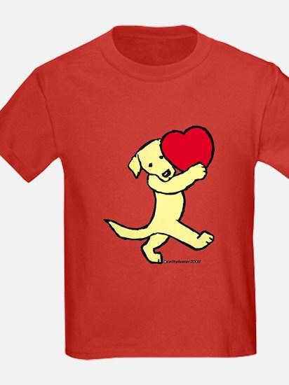 Yellow Labrador Retriever T