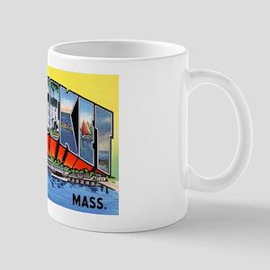 Nantucket Massachusetts Greetings Mug