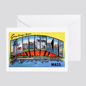 Nantucket Massachusetts Greetings Greeting Card