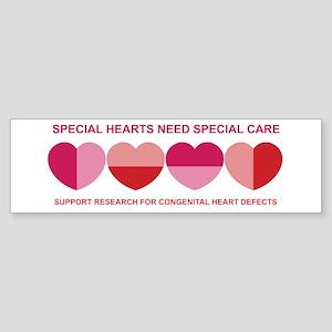 Special Hearts Bumper Sticker