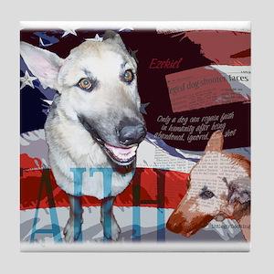 Americana: Ezekiel's Faith Tile Coaster