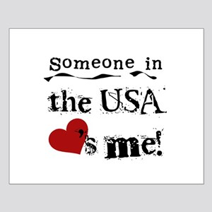 USA Loves Me Small Poster