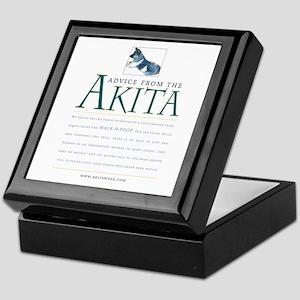 Advice from the Akita: Doody Keepsake Box