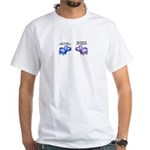 Hungry, Hungry Hippo Collecti White T-Shirt
