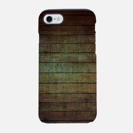 western country barn wood iPhone 8/7 Tough Case