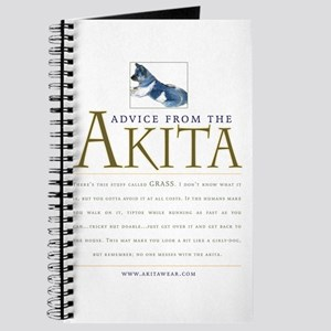 Advice from the Akita: Grass Journal