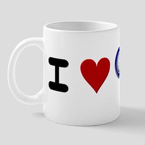I LUV BINGO Mug