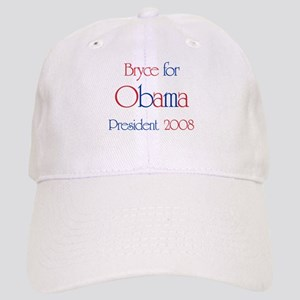Bryce for Obama 2008 Cap