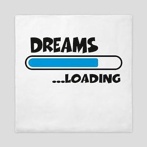 Dreams loading Queen Duvet