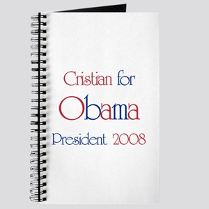 Cristian for Obama 2008 Journal