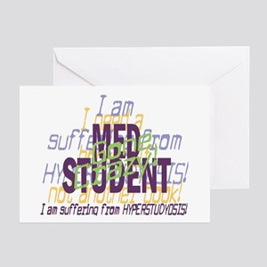 Med Student Gone Crazy! Greeting Cards (Pk of 10)