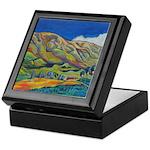 California Landscape Inlaid Tile Box