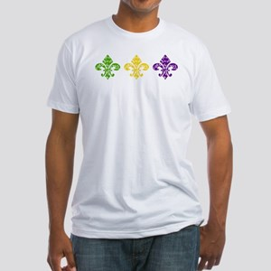 Fleur Mardi Swirl Fitted T-Shirt