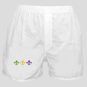 Fleur Mardi Swirl Boxer Shorts