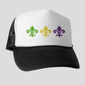 Fleur Mardi Swirl Trucker Hat