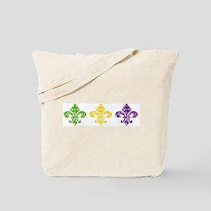 Fleur Mardi Swirl Tote Bag