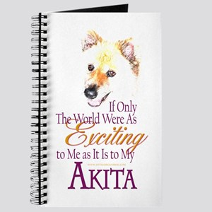 Akita: If Only Journal