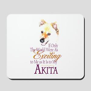 Akita: If Only Mousepad