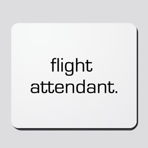 Flight Attendant Mousepad