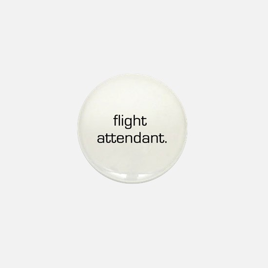 Flight Attendant Mini Button