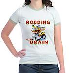 Rodding of the Brain II Jr. Ringer T-Shirt