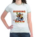 Rodding of the Brain II Jr. Ringer T-Shirt