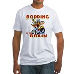 Rodding of the Brain II Fitted T-Shirt