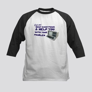 Drop Everything & Help You Kids Baseball Jersey